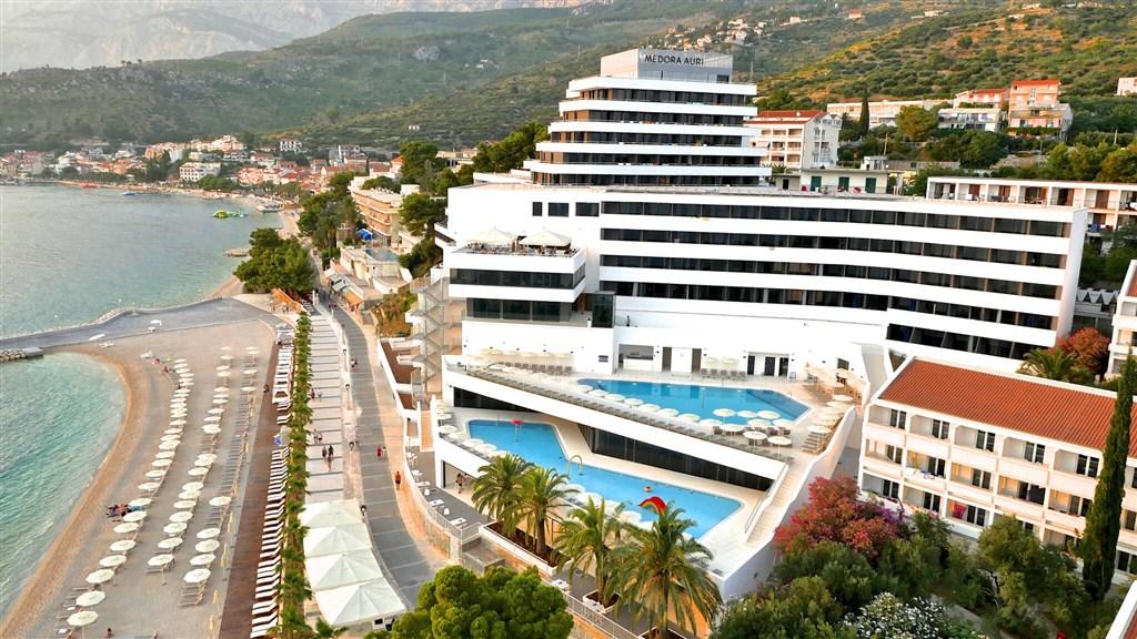 Hotel MEDORA AURI FAMILY BEACH RESORT (ex Minerva) - Podgora