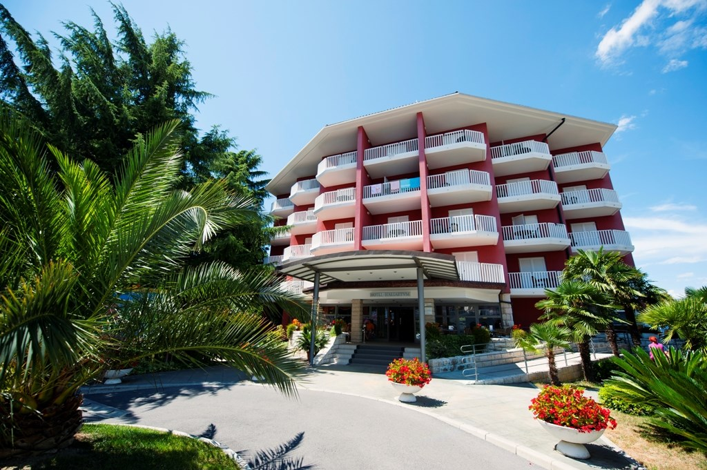 Hotel HALIAETUM/MIRTA - Slovinské pobřeží