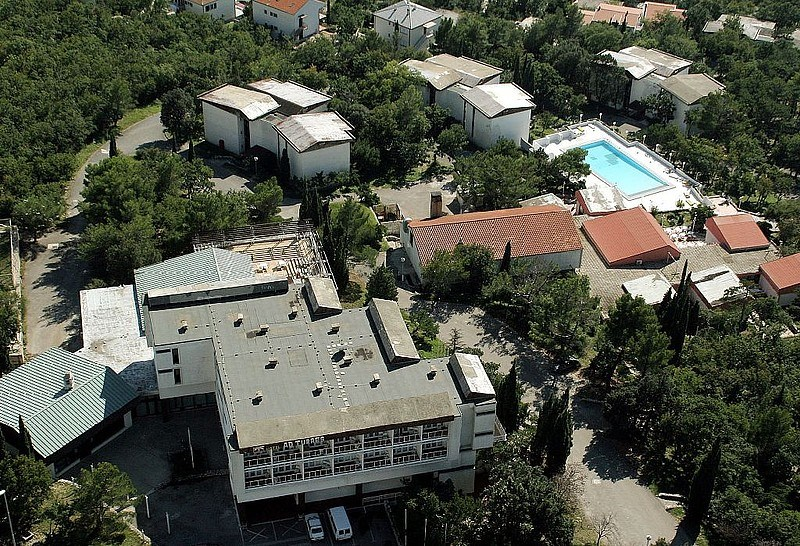 Hotel AD TURRES - Chorvatsko, Crikvenica, Hotel Ad Turres - pohled shora