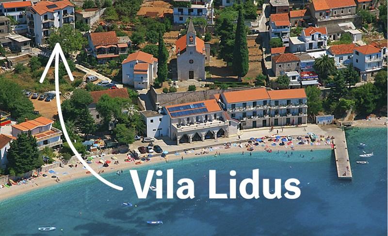 Vila LIDUS - Vnitrozemí