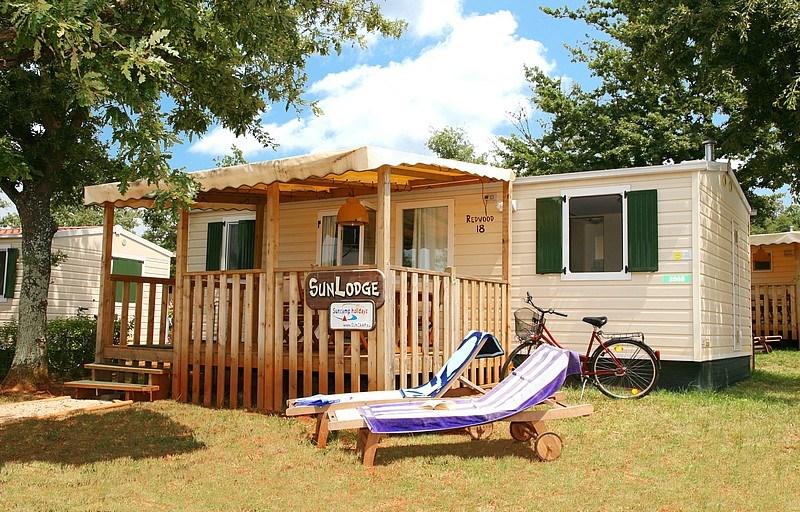 Mobilní domky Adriatic Kamp Umag -