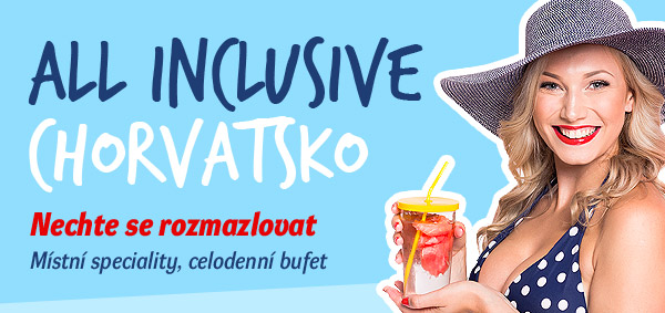 Chorvatsko All inclusive – All inclusive light